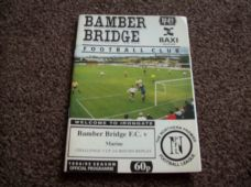 Bamber Bridge v Marine, 1994/95 [CC]